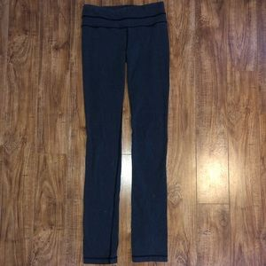 Gray lulu lemon leggings